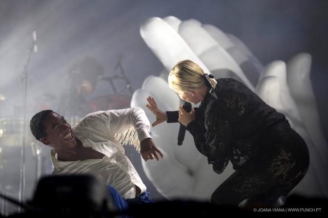 Alive '19, 1º dia - Veteranos a palco - Robyn